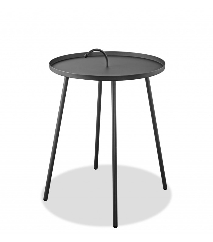 Powder Aluminum Side Table