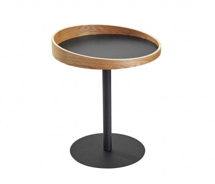 Black Mod Wood End or Side Table