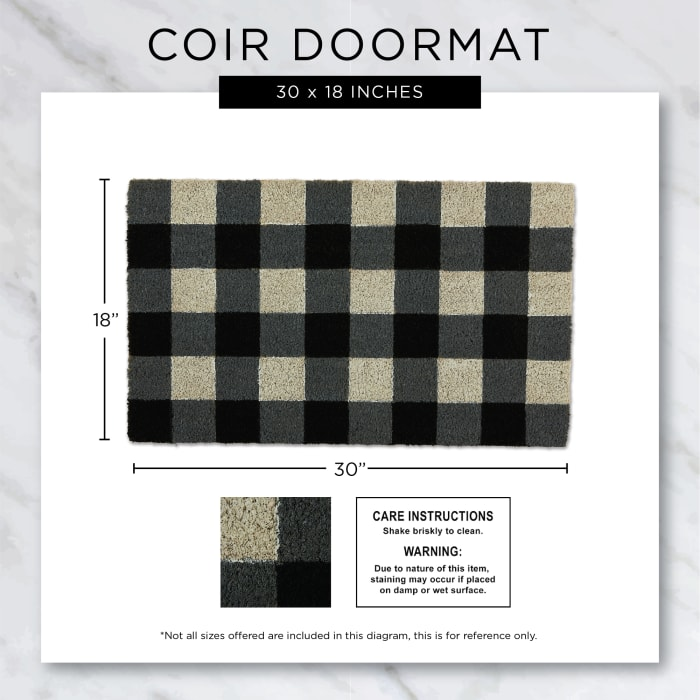 Leopard Spots Doormat