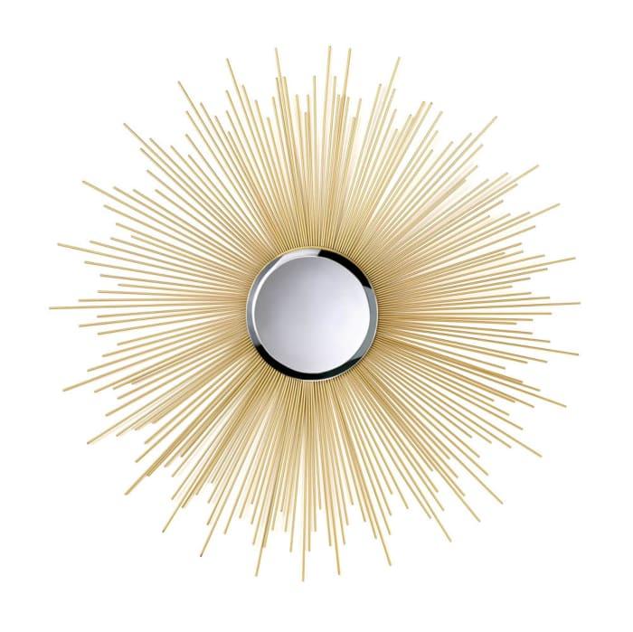 Golden Rays Mirror