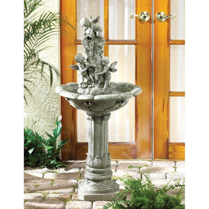 Playful Cherubs Fountain