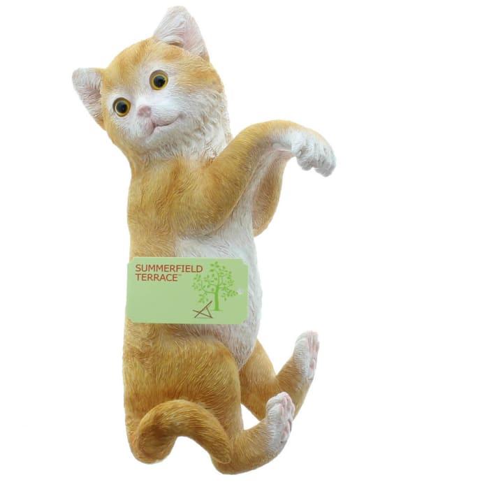 Climbing Cat Amber Decor