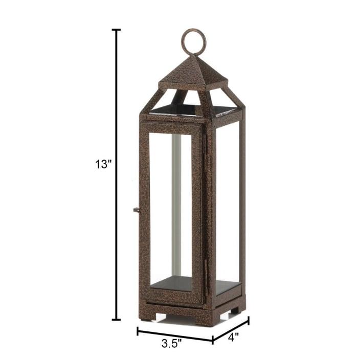 Small Copper Lantern