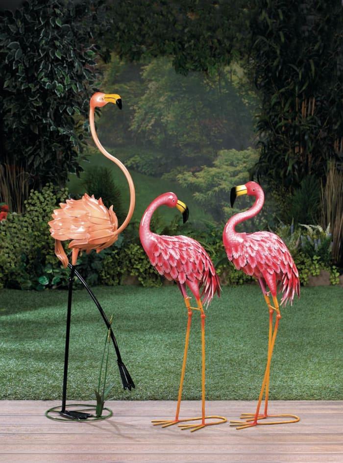 Bright Standing Flamingo
