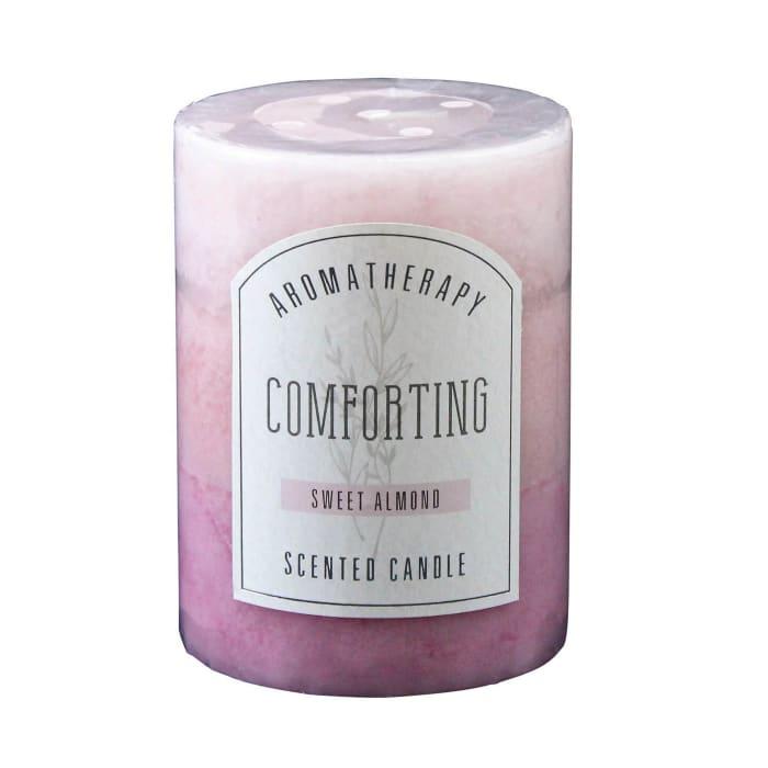 Sweet Almond Pillar Candle