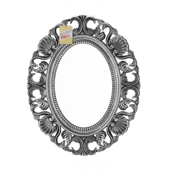 Silver Scallop Wall Mirror