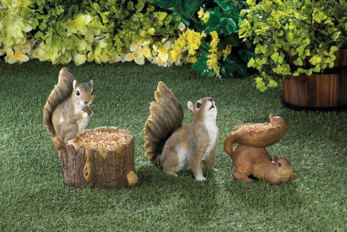 Woodland Squirrel Bird Feeder