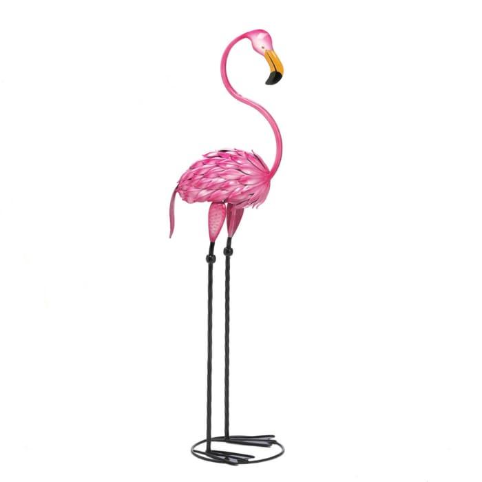 Tropical Tango Flamingo Statue