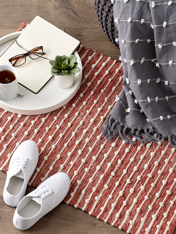 Spice Recycled Cotton Loop Rug