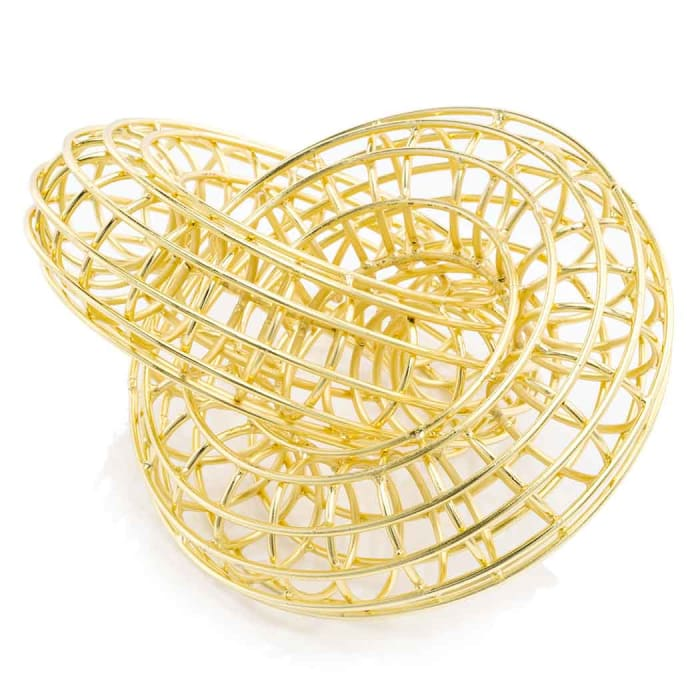 Linking Rings Gold Plated Accent