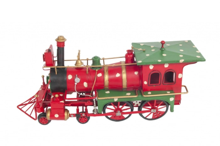 Handmade Christmas Train Model