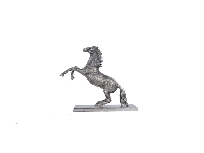 Hand-Cast Horse Aluminum Statue