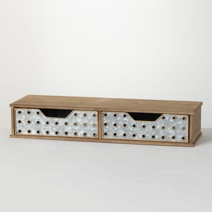 Two Drawer Monitor Riser