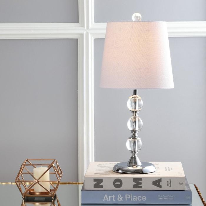 Arlo Crystal Mini Table Lamp