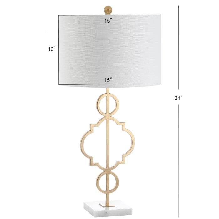 Daisy Metal Table Lamp