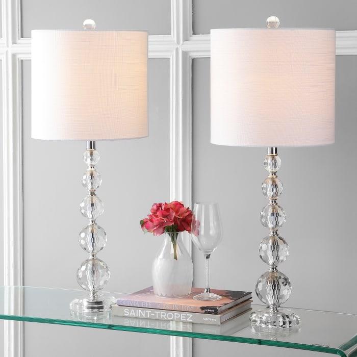 Nala Crystal Set of 2 Table Lamps