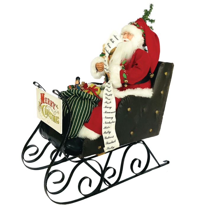 Merry Christmas Santa Sleigh 28