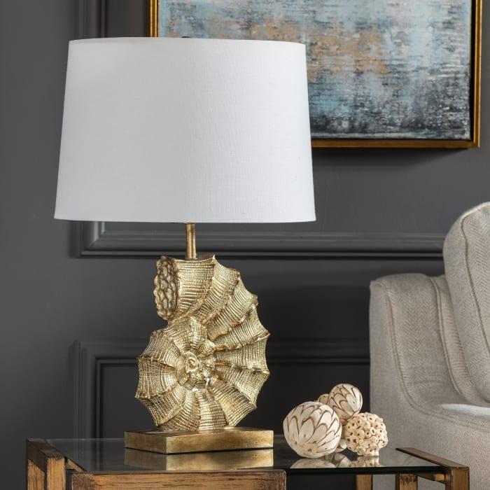 Ashton Coastal Resin Table Lamp