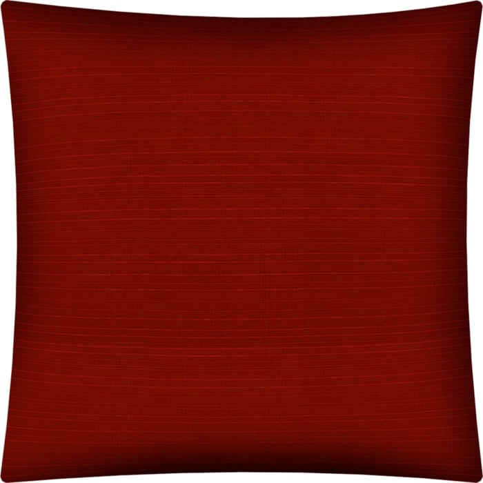Forma Burnt Red  Sewn Closure Outdoor Pillow