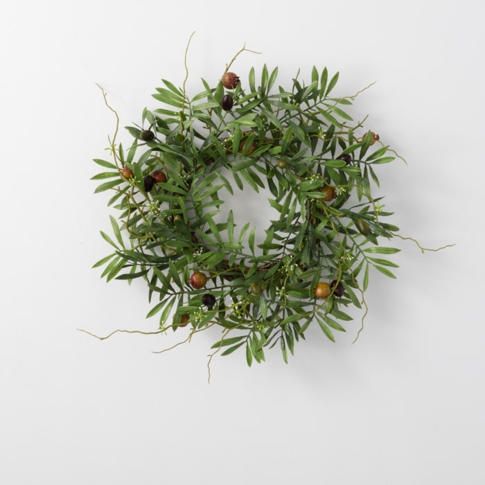 Olive Accent Wreath
