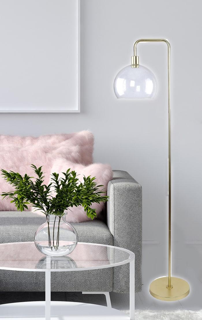 Matte Gold Floor Lamp