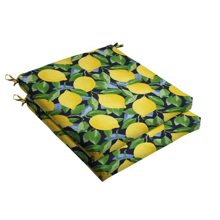 Lemon Outdoor Set of 2 Cushions