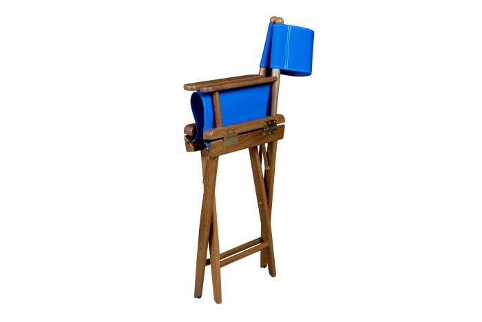 2PC SET Director/'s Chair Covers PIER 1 IMPORTS Siam Blue 860//8602 Turquoise//Gold