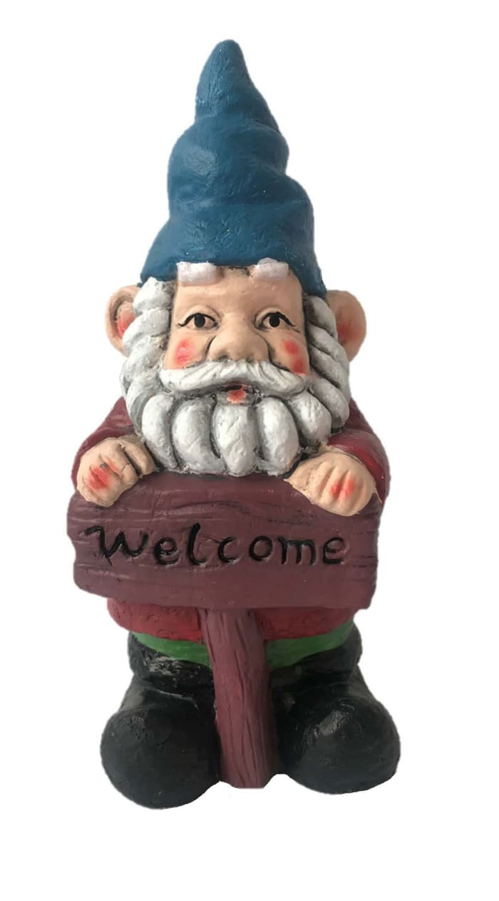 Welcome Gnome Outdoor Sculpture