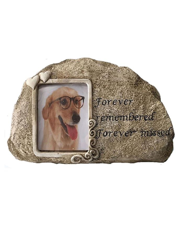 Dog Forever Remembered Outdoor Sculpture