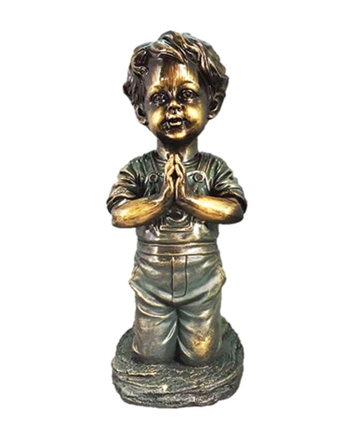 Praying Boy Outdoor Sculpture
