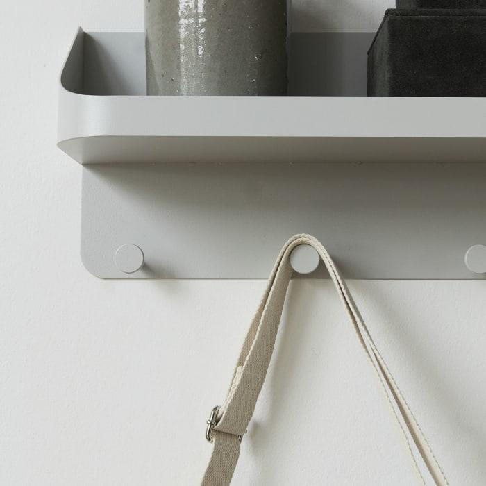Wall-mounted Shelf and Coat Rack