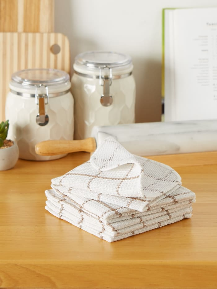 Stone Scrubber Set of 6 Dishcloths