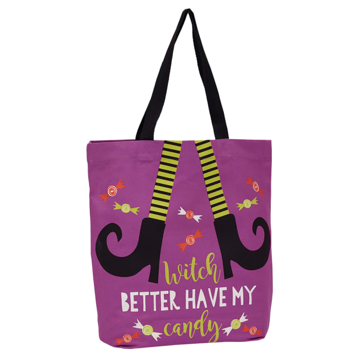 Holiday Bag Collection Printed Totes, Bewitched 2 Piece