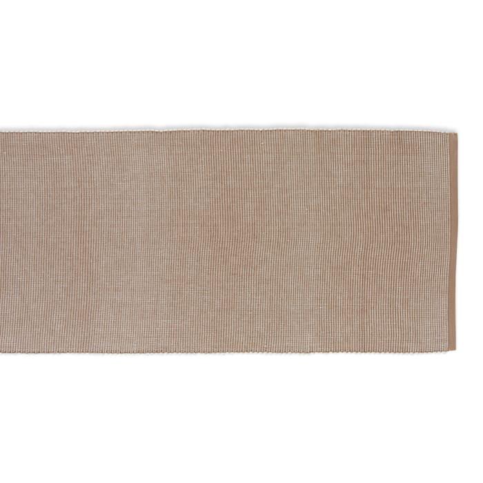 Stone & White 2-Tone Ribbed Table Runner