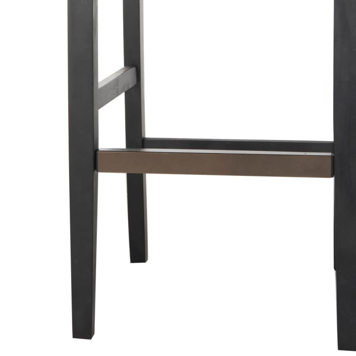 Arion Tufted Taupe Bar Stool