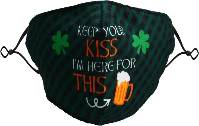 Keep Your Kiss Adult Reusable Fabric Mask