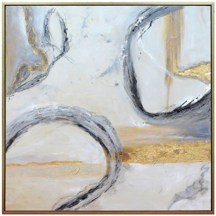 Jersen Framed Canvas Wall Art