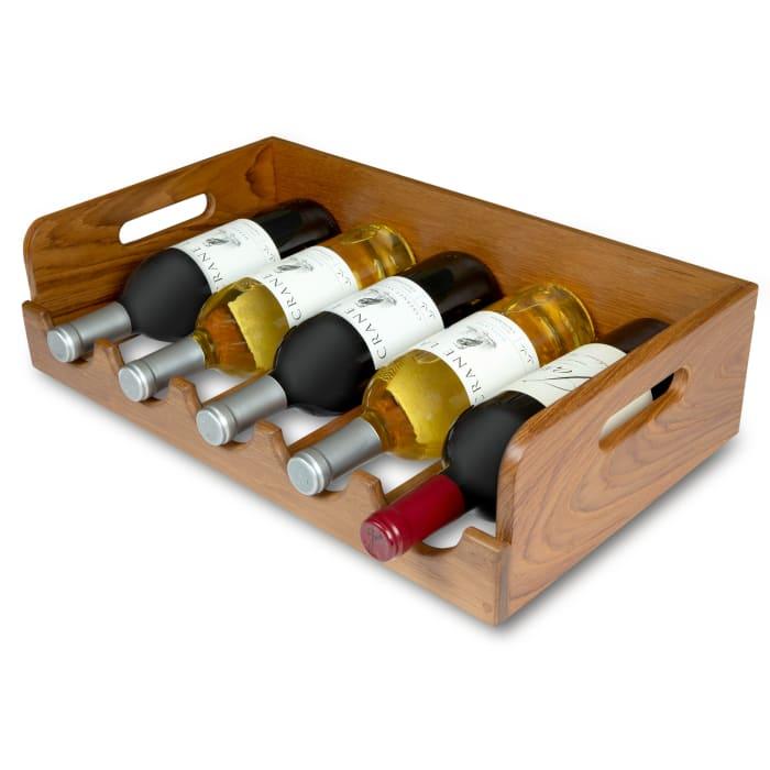 Teak Wine Holder