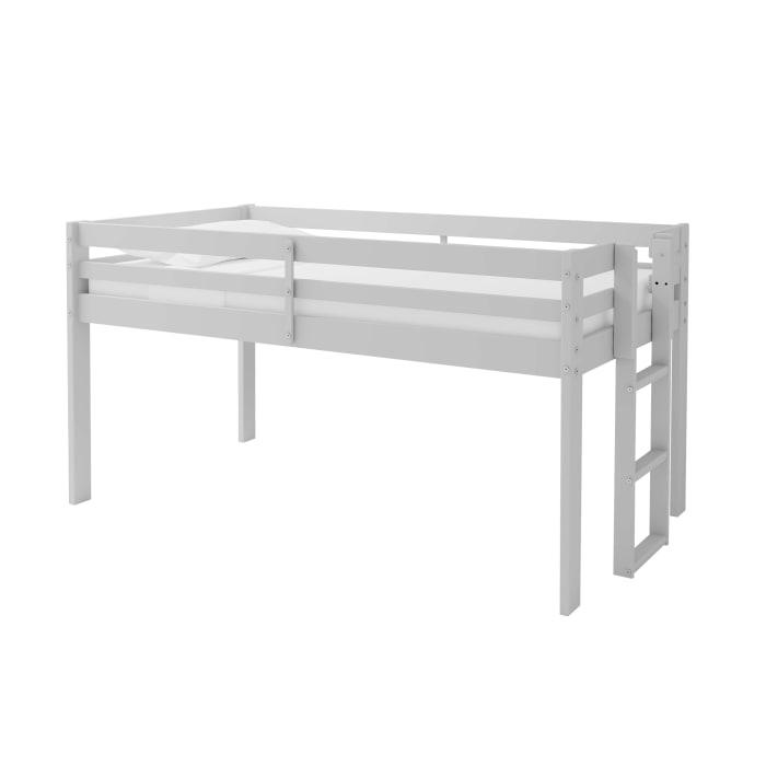 Jasper Dove Gray Wood Twin Junior Loft Bed