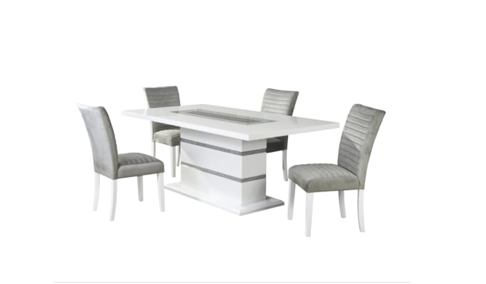 Katie Grey Dining Chair