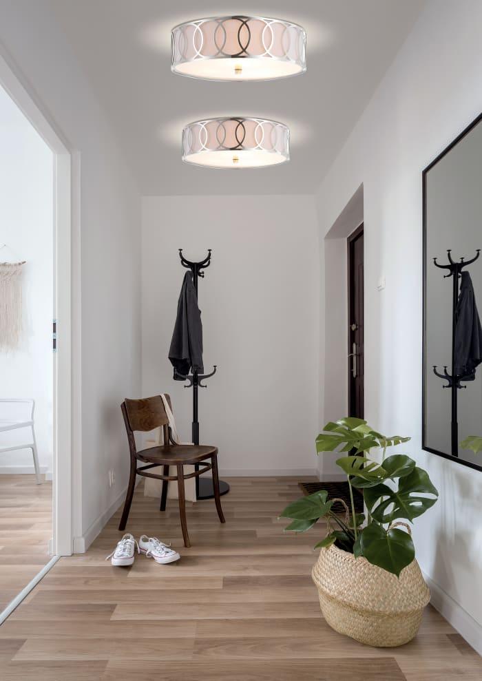 Chrome LED Ceiling Light