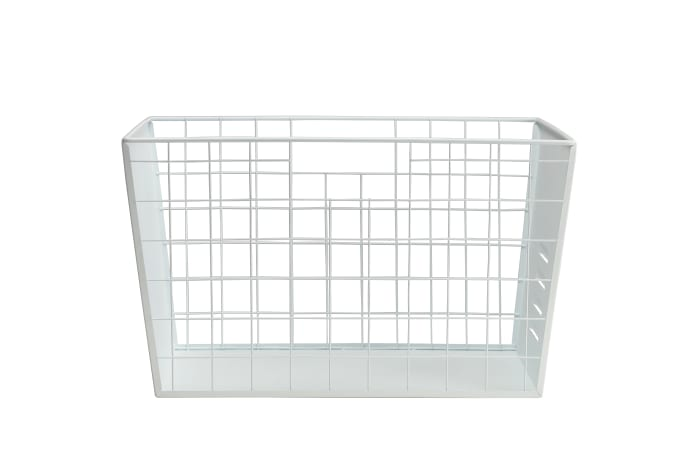 White Wire Multifunctional Basket