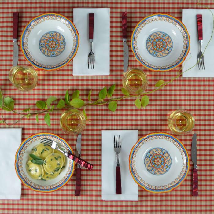 Duomo Set of 4 Pasta Bowls