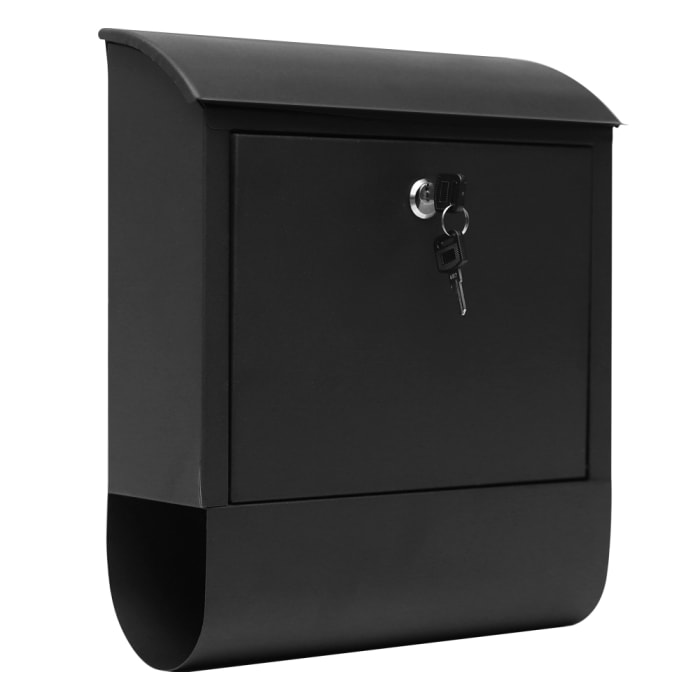 Fine Art Lighting Wall Mounted Mailbox with Newspaper Holder