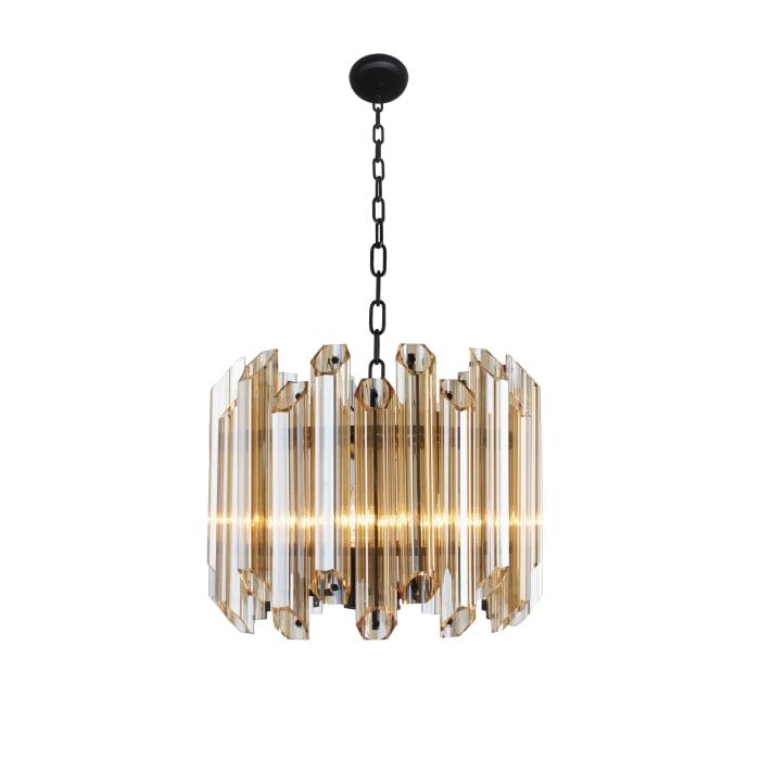Harmonie Amber Glass Fixture Pendant Light
