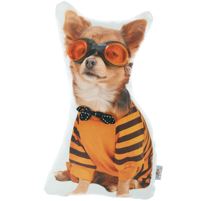 Decorative Throw Costume Dog Printed Pillow