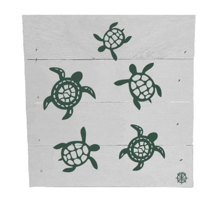 TURTLE FAMILY Wall Accent