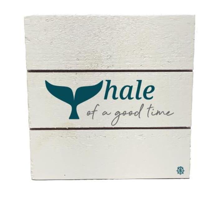 WHALE OF A GOOD TIME Wall Accent