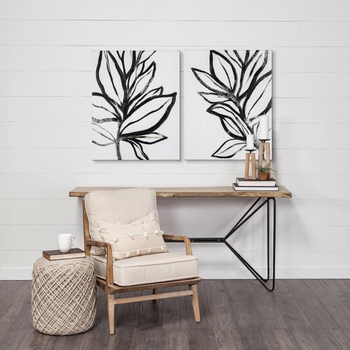Leaf Instinct I Wrapped Canvas Wall Art