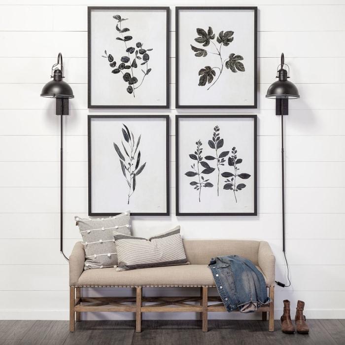 Botanical Study I Wrapped Canvas Wall Art